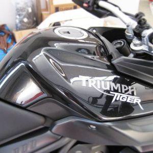 Wrapping Serbatoio Triumph Tiger