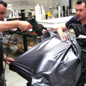 Wrapping Serbatoio Triumph Tiger