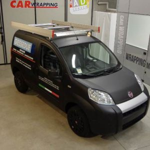 Car Wrapping Fiat Fiorino