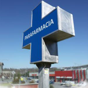 Insegne, Studio grafico pubblicitario lombardia, Decorazione automezzi - Cassonetto sagomato bifacciale, con struttura portante