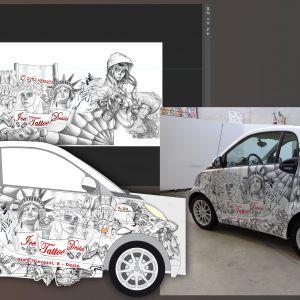 Stampa digitale lombardia Studio grafico pubblicitario Decorazione - Dall'idea alla definizione del progetto, dalla stampa alla decorazione completa della vettura