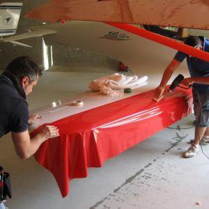 Wrapping Decorazione Aereo Ultraleggero