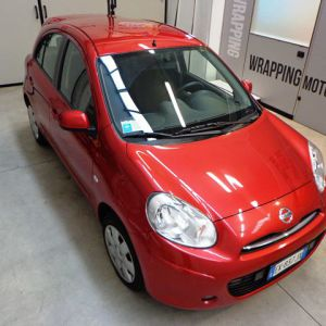 Car Wrapping Nissan Micra