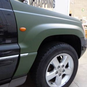 Car Wrapping Grand Cherokee Militare