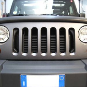 Car Wrapping Jeep Wrangler