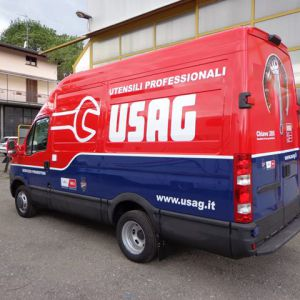 Car Wrapping Iveco Daily Usag