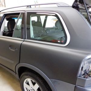 Car Wrapping Volvo Xc90 Nero Opaco