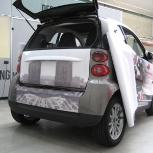 Car Wrapping Smart E A
