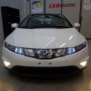 Car Wrapping Honda Civic