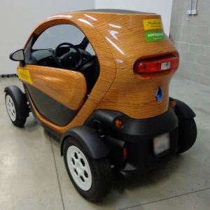 Car Wrapping Renault Twizy