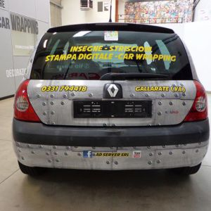 Car Wrapping Renault Clio Ad Server