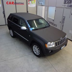 Car Wrapping Jeep Grand Cherokee